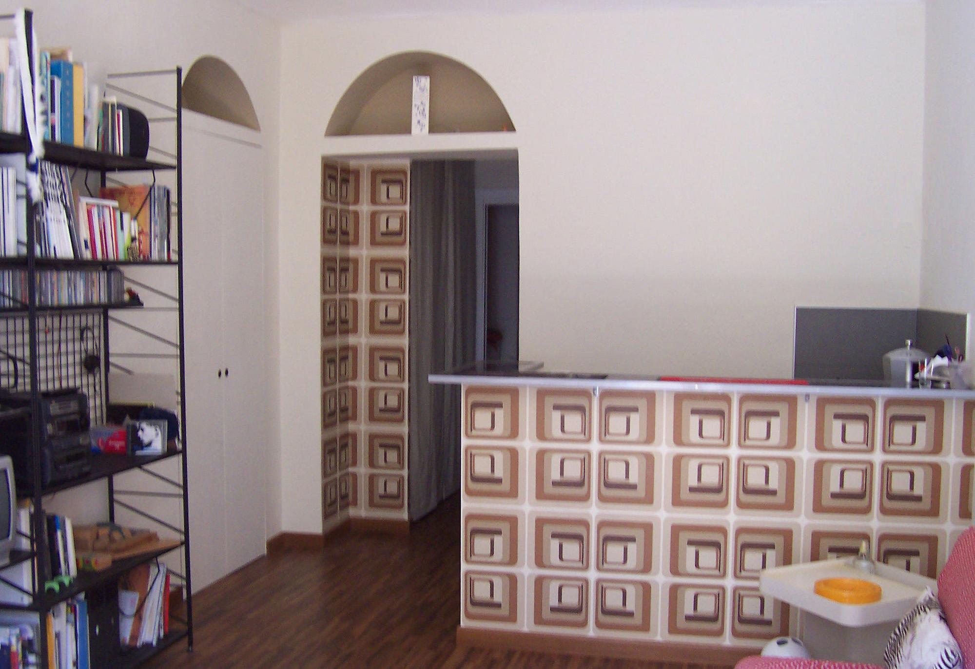 Architetto Andrea Milano -Ristrutturazione di appartamento nel quartiere Vanchiglia