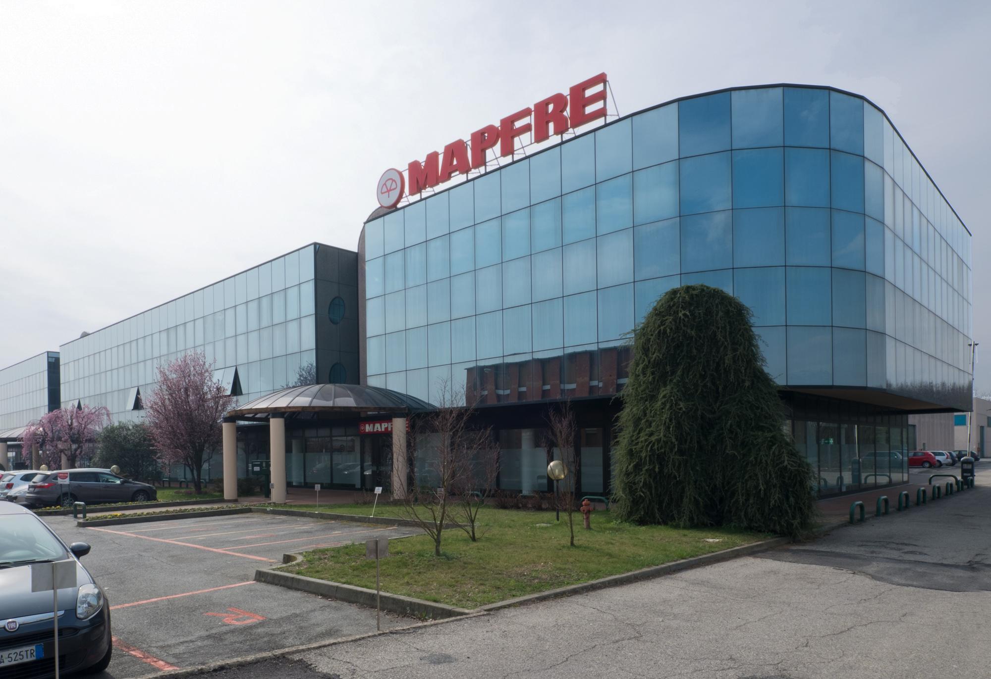 Architetto Andrea Milano -MAPFRE, ristrutturazione e ampliamento uffici sede Italia