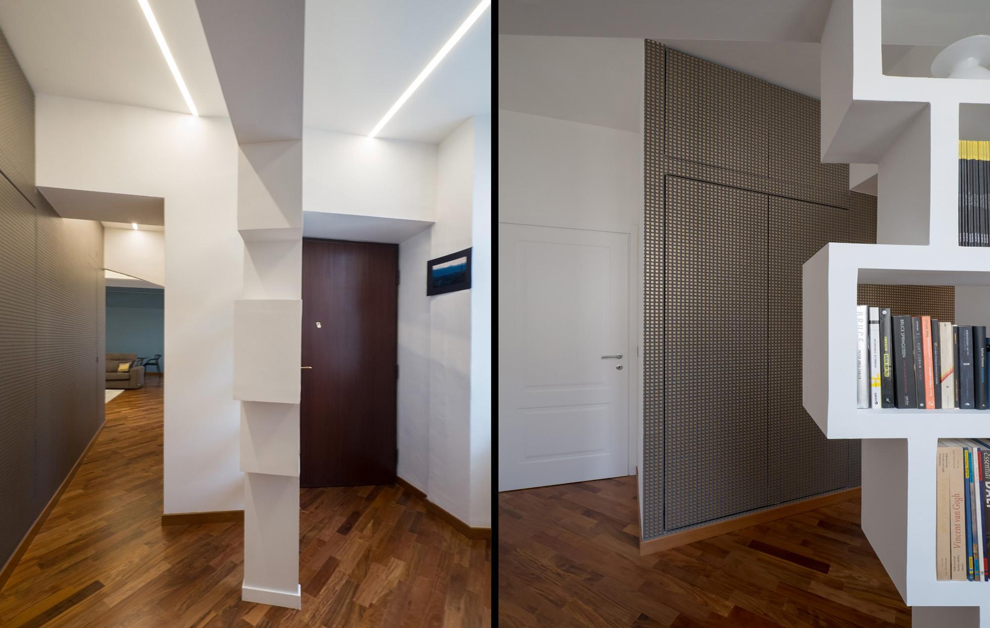 Architetto Andrea Milano -Ampliamento e ristrutturazione di appartamento nel quartiere Vanchiglia