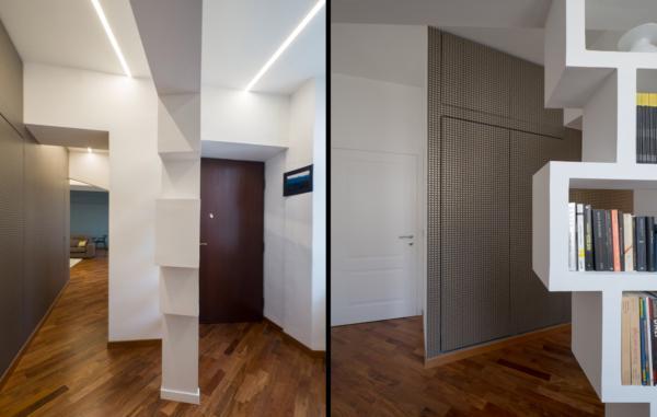 Architetto Andrea Milano - Ristrutturazione appartamento in Vanchiglia, Torino